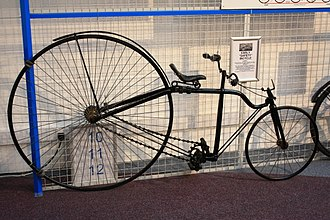 Safety bicycle - Image: Early Safety Bicycle c.1879 Coventry Transport Museum