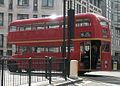East London Routemaster heritage route 15 Ludgate Circus 13 April 2008 cropped.jpg