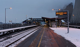 East Midlands Parkway railway station Railway station in Nottinghamshire, England