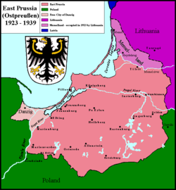 East Prussia - Wikipedia, the free encyclopedia