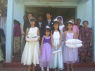 Culture of East Timor - An East Timorese wedding in 2006