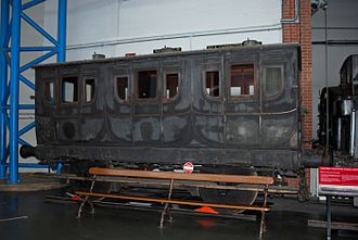 Eastern Counties Railway - Eastern Counties Railway 1st Class carriage