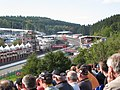 Eau Rouge F1 2007, Spa, Francorchamps, Stavelot, Walloon, Belgium - panoramio.jpg