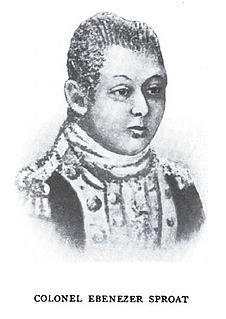 Ebenezer Sproat Continental Army officer, pioneer to the Ohio Country