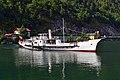 Ebensee - Dampfschiff Gisela beim Wenden.jpg