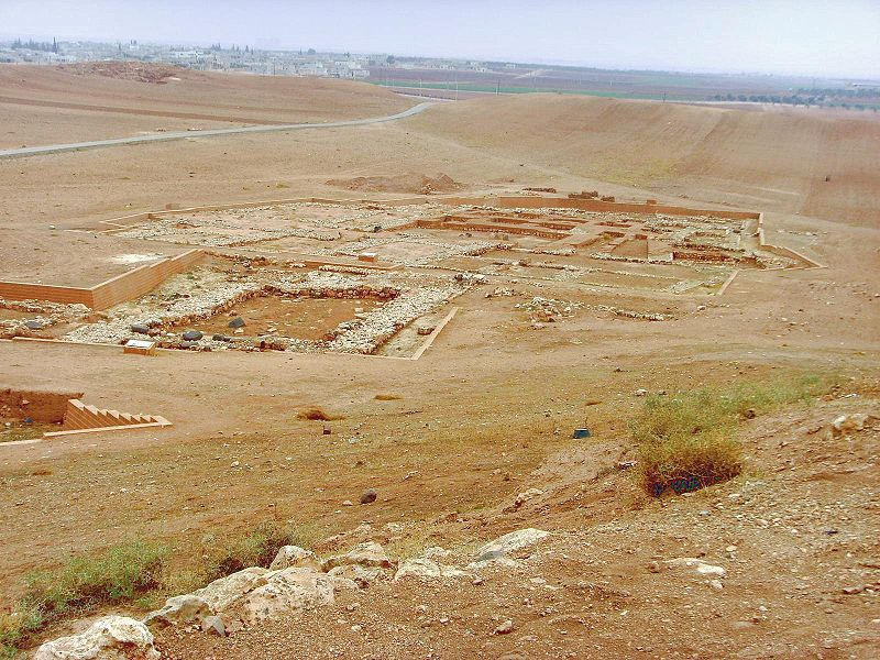 Archaeologist: Royal Palace of Ebla, Living Archive of Syria 800px-Ebla9
