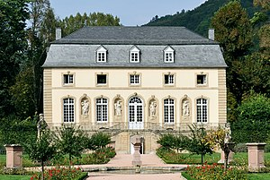 English: Orangery in Echternach, Luxembourg