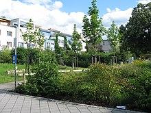 pont en bois de jardin