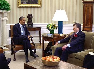 Edgar Bronfman Sr. - Edgar M Bronfman and President Barack Obama