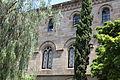 Edifici històric de la Universitat de Barcelona cour mur.jpg