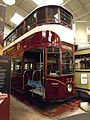 Edinburgh tram 35 in Crich Exhibition Hall.JPG
