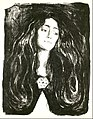 Edvard Munch - The Brooch. Eva Mudocci - Google Art Project.jpg