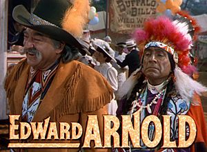 Edward Arnold (actor) - Arnold (left) with J. Carrol Naish, from the trailer for Annie Get Your Gun (1950)