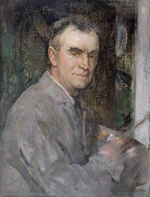 Edward Arthur Walton - Self portrait