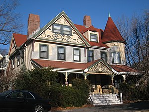 Edward Hall House - Image: Edward Hall House, Arlington MA IMG 2749