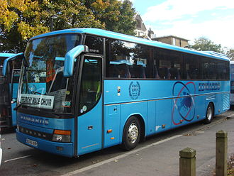 Edwards Coaches - Setra S 315 GT-HD in Vauxhall in 2008