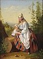Eesti naine lapsega, Carl Timoleon von Neff, EKM j 24468 M 5636.jpg