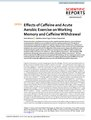 Effects of Caffeine and Acute Aerobic Exercise on Working Memory and Caffeine Withdrawal.pdf