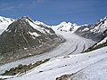 Eggischorn, view on the Aletsch Glacier - panoramio.jpg