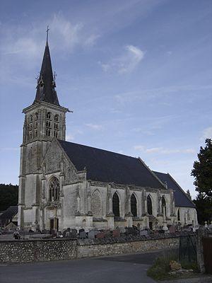 Appeville-Annebault - Image: Eglise Appeville Annebault