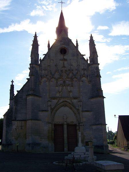 Église de la commune de Saint-Père (Nièvre, Bourgogne, France)