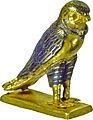 Egyptian - Figure of a Horus Falcon - Walters 571484 - Three Quarter.jpg
