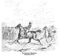Ein Trabrennen in Niederbayern. Originalzeichnung von Wilhelm Diez.png