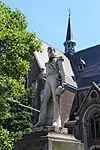 Ekeren (B) - Markt Standbeeld leopold II.jpg