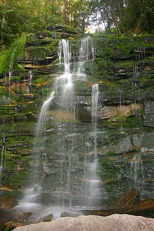 Elakala Falls - The third falls