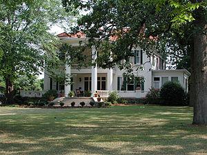 Elberton, Georgia - A home along Elberton's Heard Street