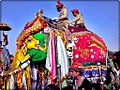 Elephant festival on eve of holi festival in india. - panoramio.jpg