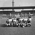 Elftal van DWS. Jan van de Jan van de Zande, Jos Vonhoff, Jan Jongbloed, Anderé , Bestanddeelnr 919-6903.jpg