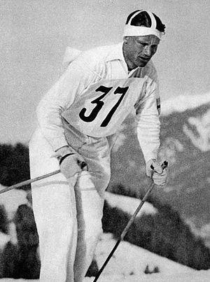 Elis Wiklund - Wiklund at the 1936 Olympics