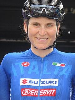 Elisa Longo Borghini Italian racing cyclist
