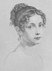 Elisabeth Ludovika as a Bavarian princess, 1822 (Source: Wikimedia)