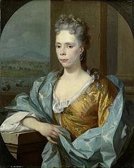 Portrait of Elisabeth van Riebeeck, Daughter of Abraham van Riebeeck, Wife of Gerard van Oosten