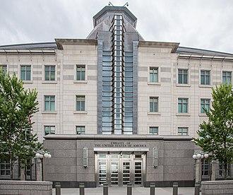 Embassy of the United States, Ottawa - Image: Embassy of the United States of America (14786429593)