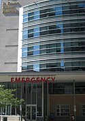 Emergency entrance at the Toronto General Hospital (12 August 2009).jpg