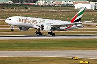 A6-EWD - B77L - Emirates