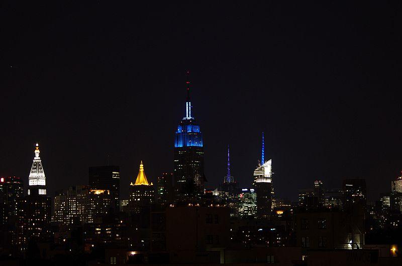 File:Empire State Building blue blue blue 2011 Shankbone.JPG