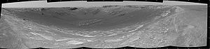 Endurance crater-first panorama taken by Opportunity rover.jpeg