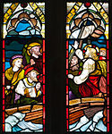 Enniskillen Cathedral of St. Macartin North Aisle Window Four Evangelists Detail Calming the Storm 2012 09 17.jpg
