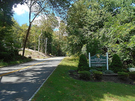 Entering Montville, New Jersey