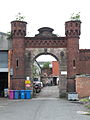 Entrance Gateway at Hartley's Factory Hartley Avenue Walton Liverpool Merseyside United Kingdom.jpg