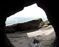 Entrance of Robin Hood's Cave on Stanage Edge, Derbyshire - geograph-3466490.jpg