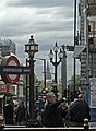 Entrance to subway, Piccadilly Circus, London W1 - geograph.org.uk - 993689.jpg