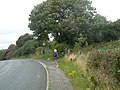 Entrance to the footpath from Minffordd to Bangor - geograph.org.uk - 1468439.jpg