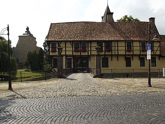 Steinfurt - Entry of Castle Steinfurt