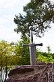 Epée d'Excalibur au Lac de Trémelin en Brocéliande.jpg