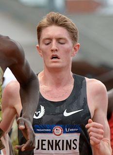 Eric Jenkins American athletics competitor